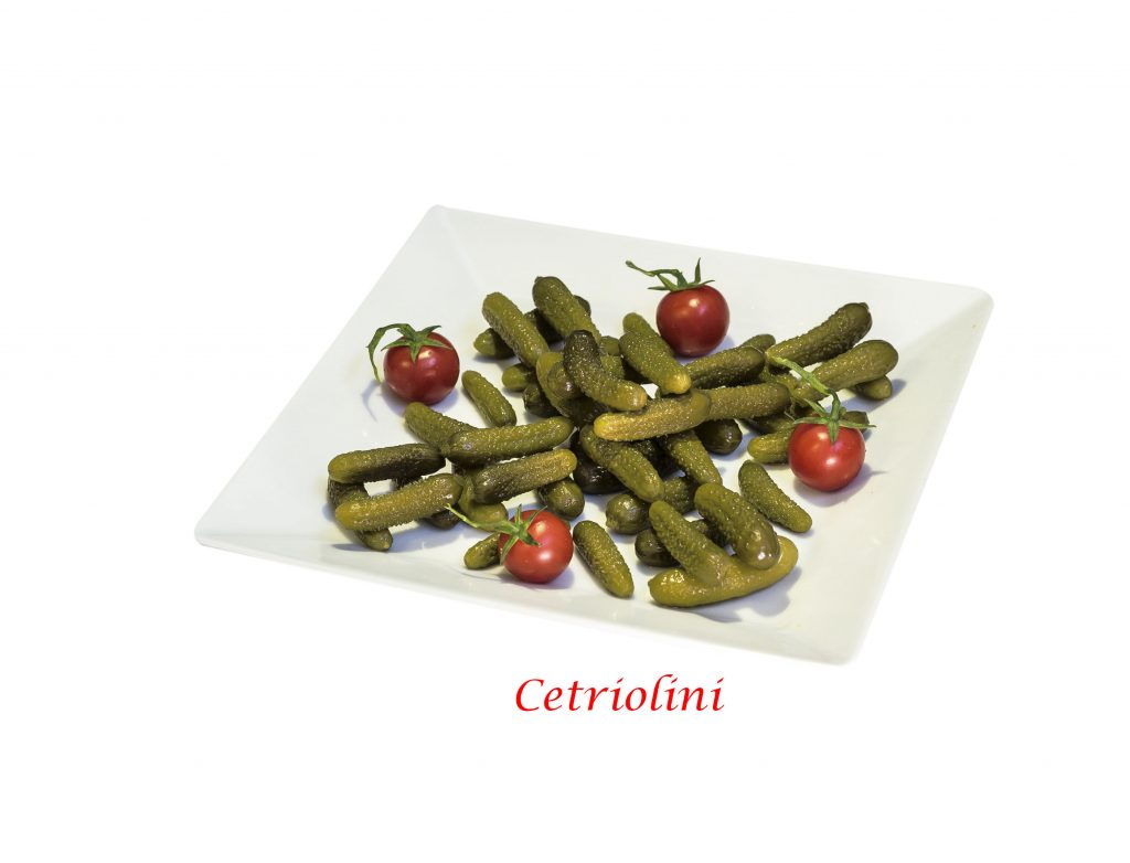Cetriolini in aceto