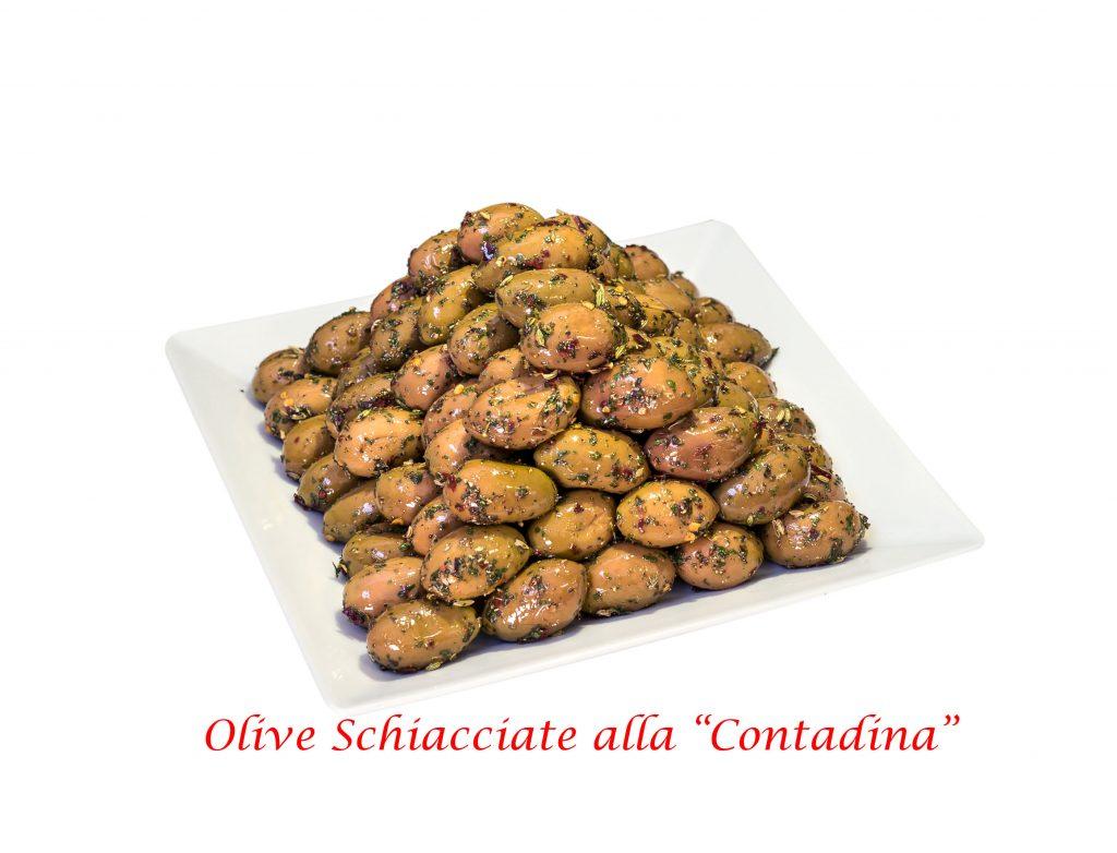 oliva schiacciata contadina