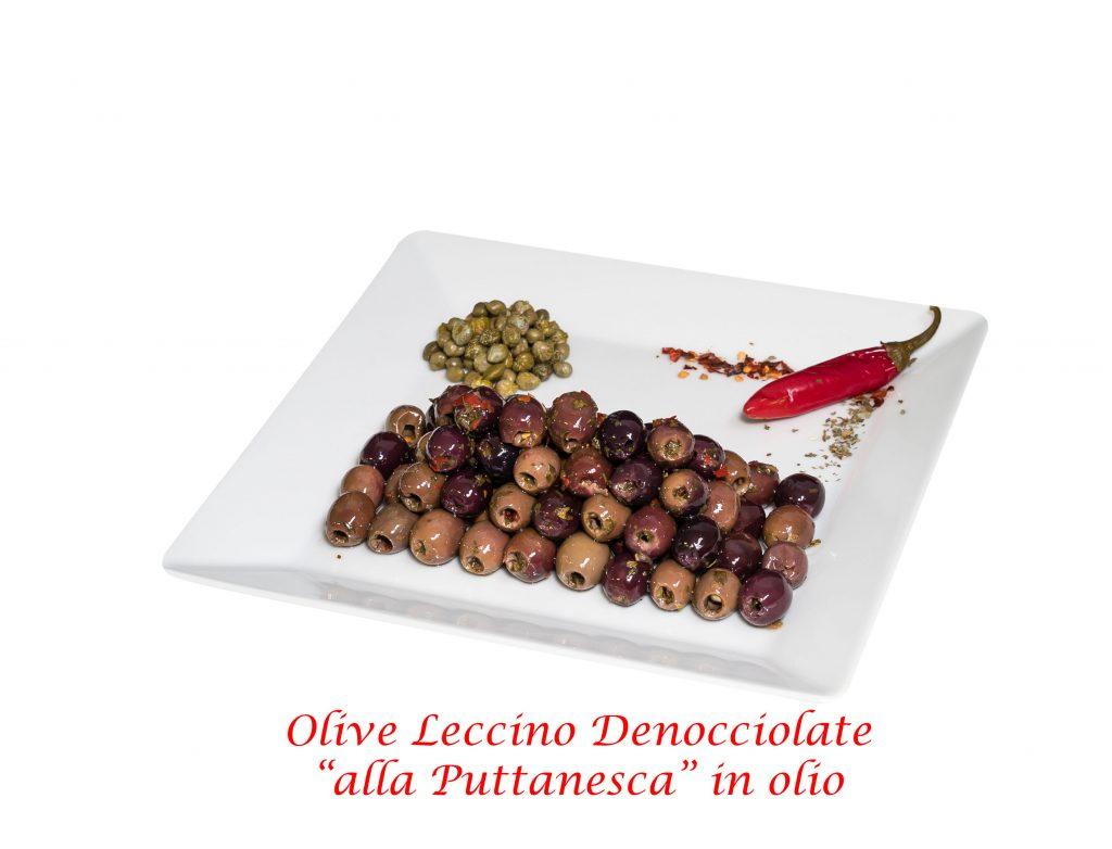 olive leccino puttanesca