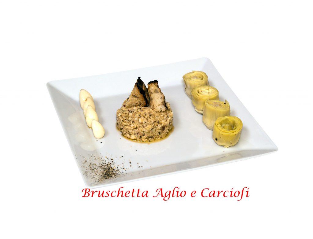 rustichelle carciofi ed aglio